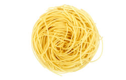 Single noodle Royalty Free Stock Photography