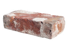 Single old brick Royalty Free Stock Images