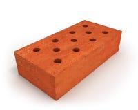 Single orange brick Stock Photo