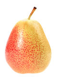 Single a orange fresh pear Stock Photography
