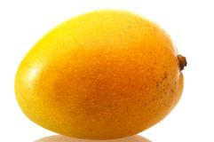 Single orange mango Royalty Free Stock Image