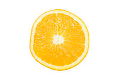 Single of Orange Slice Royalty Free Stock Photography
