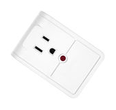 Single outlet surge protector Royalty Free Stock Images