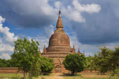 Single Padoga in Bagan, Myanmar Stock Image