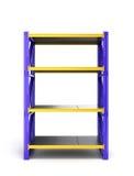 Single pallet rack, Stock Photos