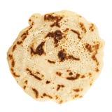 Single pancake isolated Stock Photography