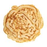 Single pancake isolated Royalty Free Stock Photo