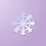Single Paper Snowflake Stock Images