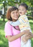 Single parent Stock Photo