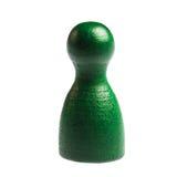 Single pawn leisure game figure Royalty Free Stock Photo