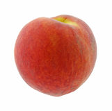 Single peach Stock Photography