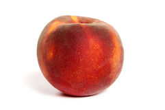 Single peach Royalty Free Stock Photo