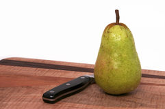 A Single Pear Stock Photos