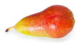 Single pear. On white background Royalty Free Stock Photo