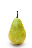 Single pear. On white background with clippinh path Stock Image