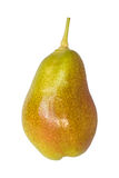 Single pear isolated on white Stock Images