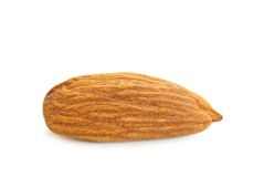 Almond isolated Royalty Free Stock Photos