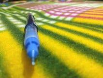 A single pen stock photo