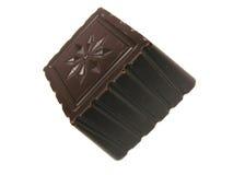 Single piece of chocolate Stock Image
