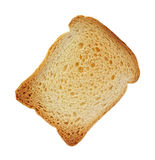 Single Piece Small Toast Royalty Free Stock Photos