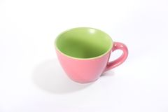 A single pink cup Stock Photo