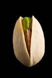 Single pistachio nut isolated Stock Images