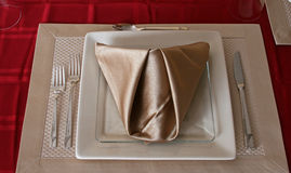 Single Place Setting Royalty Free Stock Images