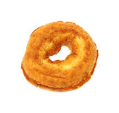 Single Plain Donut Overhead View Stock Images