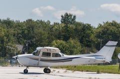 Single plane engine Royalty Free Stock Photos