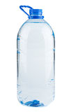 Single plastic bottle of water Royalty Free Stock Photo