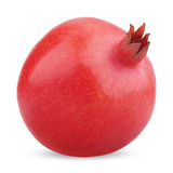 Single pomegranate fruit royalty free stock image