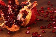 Single Pomegranate Royalty Free Stock Image