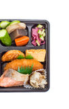 Single-portion takeout or home-packed meal Royalty Free Stock Photo