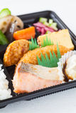 Single-portion takeout or home-packed meal Stock Images