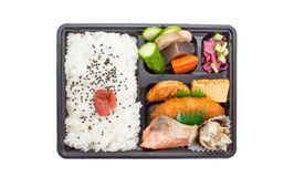 Single-portion takeout or home-packed meal Royalty Free Stock Image