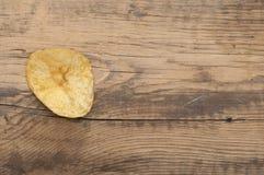 Single potato chip Royalty Free Stock Photos