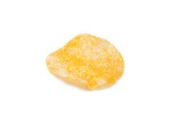 Single potato chip Royalty Free Stock Photography