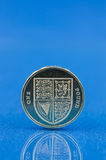 Single pound coin Stock Photos