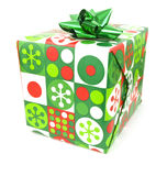 Single Present Stock Photography
