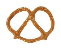 Single pretzel Royalty Free Stock Image