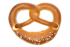 Single Pretzel Royalty Free Stock Photo