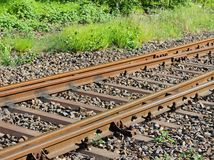 Single Rail. An image of a single rail stock photos