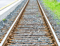 Single rail track Stock Photography