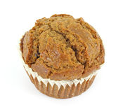 Single raisin bran muffin Stock Images