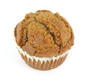 Single raisin bran muffin stock images