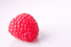 Single Rasberry Royalty Free Stock Photography