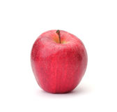 Single red apple Royalty Free Stock Images