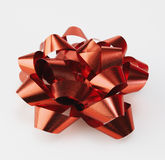 Single Red Bow Stock Images