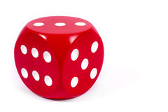 Free Single Red Dice Royalty Free Stock Image - 83830776