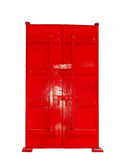 Single red door Royalty Free Stock Photos